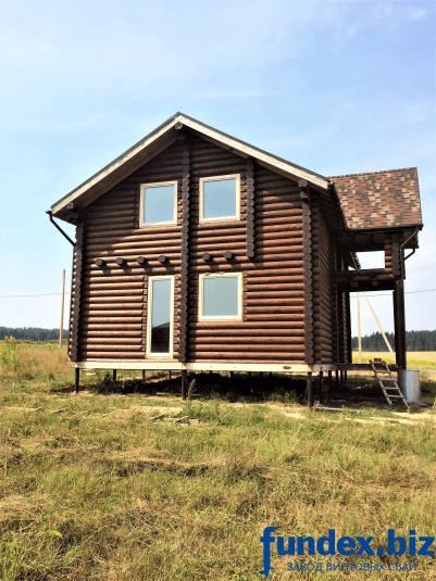 Дом на винтовых сваях, свайно-винтовой фундамент под ключ