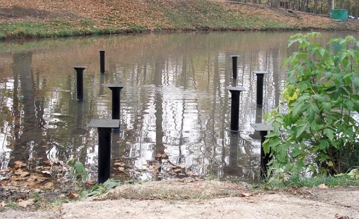 свайный фундамент на болотистых участках
